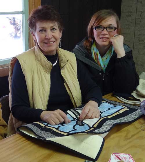 Bring Your Own Craft Project to North Fork Idaho if Quilting isn't your thing