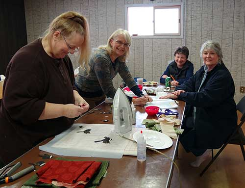 North Fork Idaho Quilt Raffle Project at the Stitchin Post