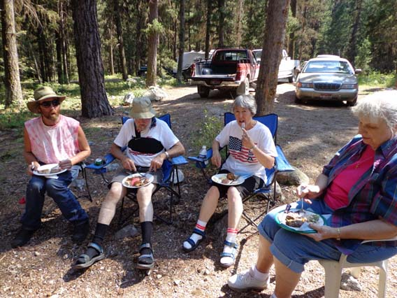 North Fork Church Camping